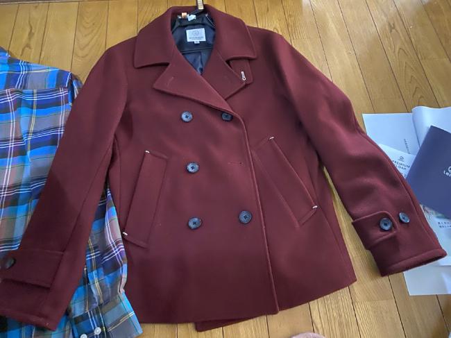 リネットに出した後のジャケット