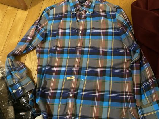 リネットに出した後のシャツ