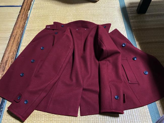 リネットに出したジャケット