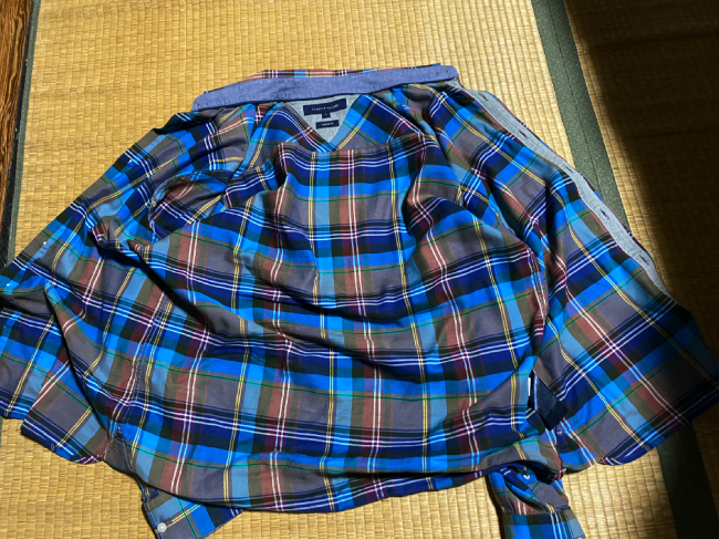 リネットに出したシャツ