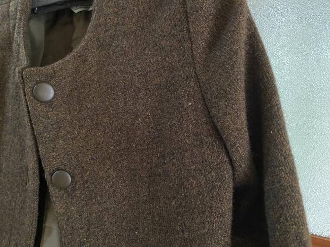 ネクシーに出したジャケットの袖